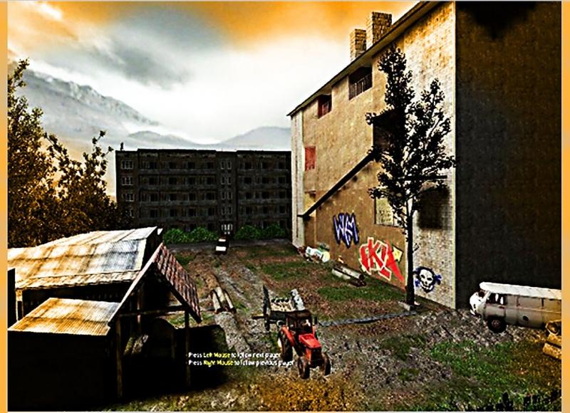vertikální druh mapy s horizontální základnou hrací plochy :)